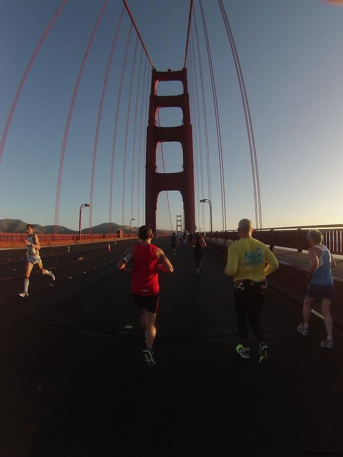 Marathon de San Francisco - Golden Gate