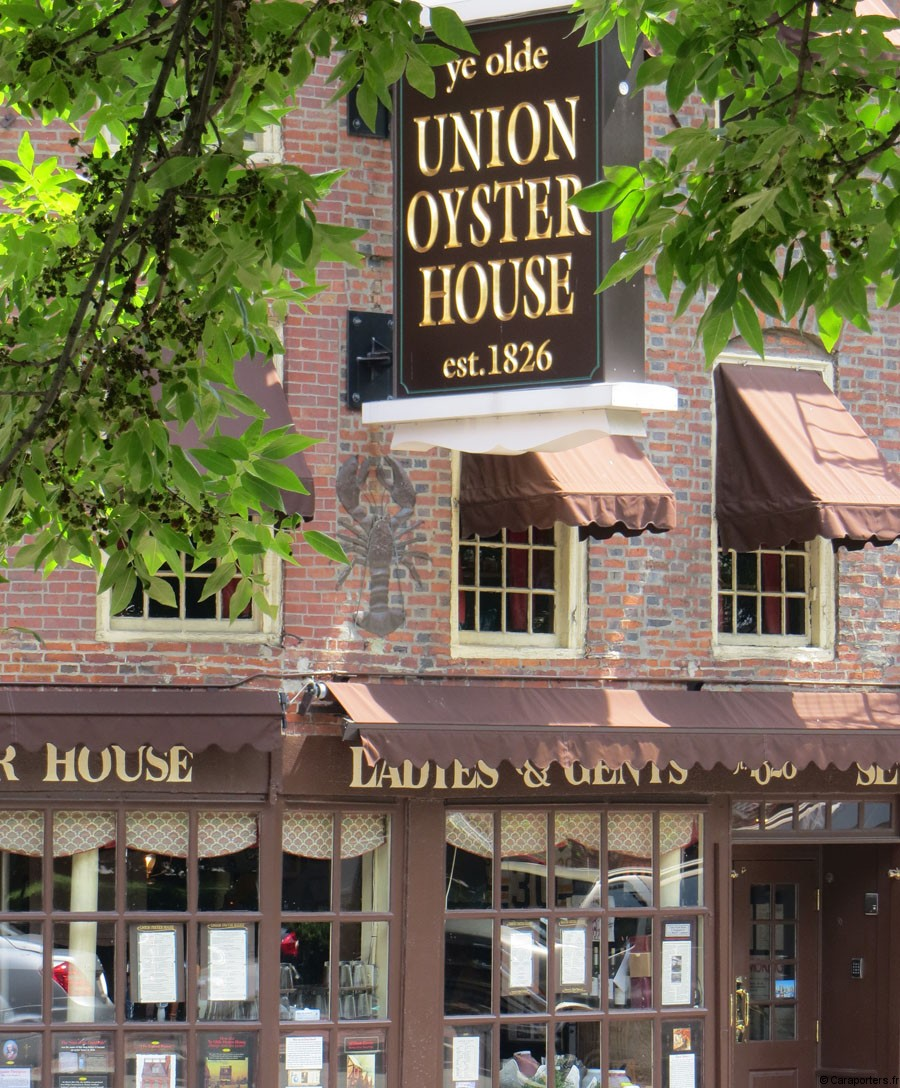 'ye olde Union Oyster House' à Boston