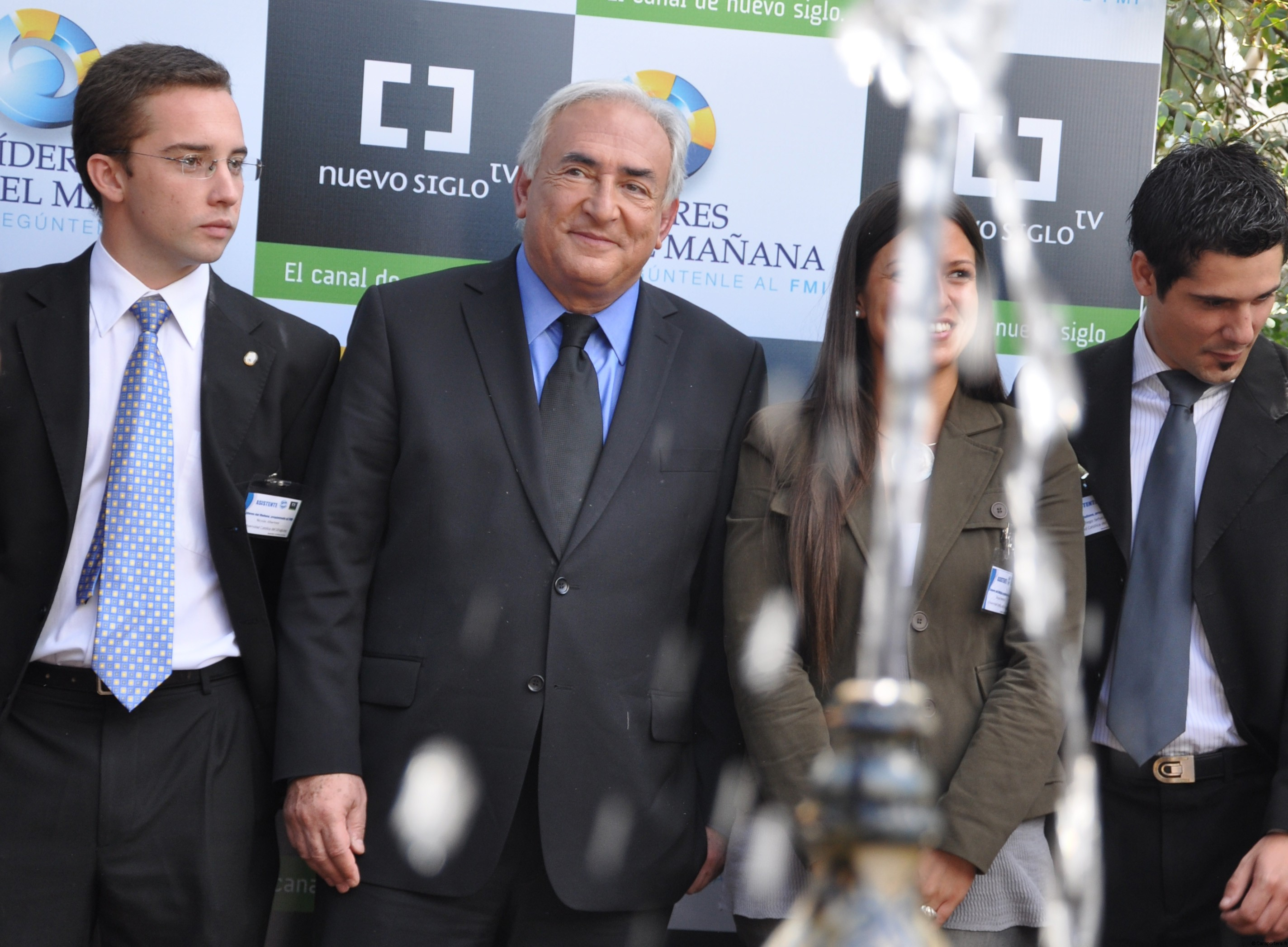 Dominique Strauss-Kahn en Uruguay